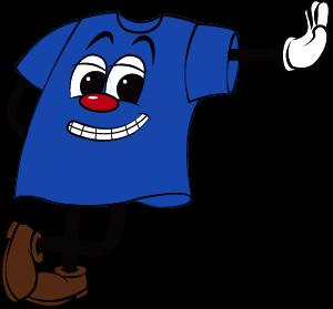 ブルーカラーマスコット