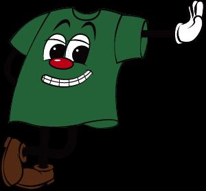 グリーンカラーマスコット