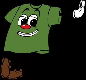 グラスグリーンカラーマスコット