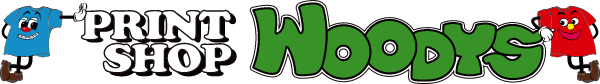 PRINT SHOP WOODYSロゴ